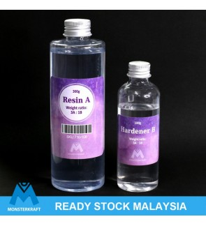 Epoxy Resin AB Glue Resin, Hard, Crystal Clear, High Quality