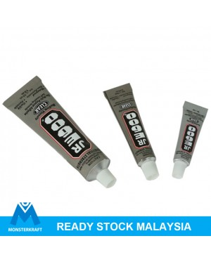 Adhesive Glue, E6000 / JRE600, Clear, for bling case fabric glue