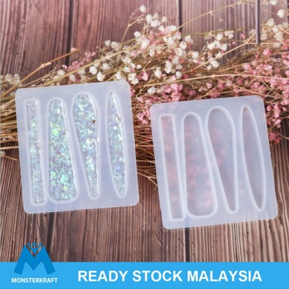 Hair Clip DIY Mold Simple Shape