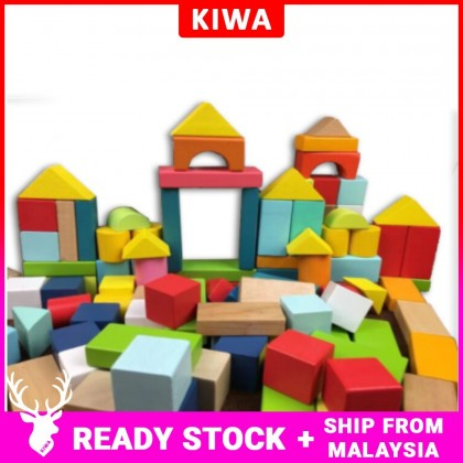 100pcs Wooden Building Block
