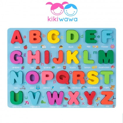 Large Puzzle - Alphabets, Shapes, Numbers