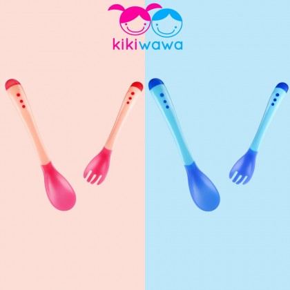 Temperature Color Changing Spoons And Fork