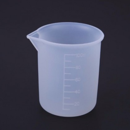 Silicone 110ml Measurement Cup UV / Epoxy Resin Soap Making