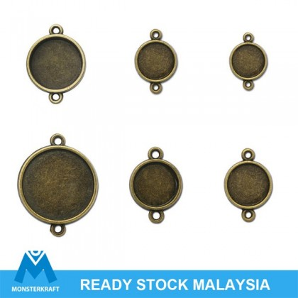 Picture Frame Link, Antique Brass-Plated Pewter (617-080P)
