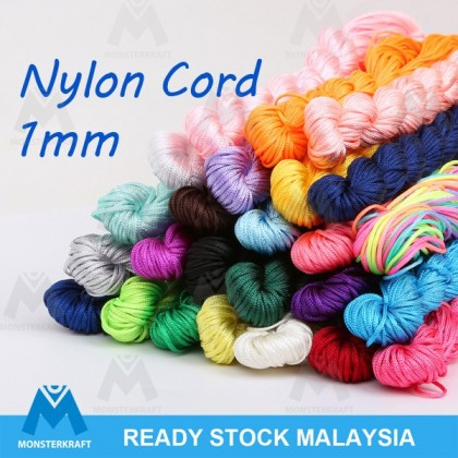 25 meters Chinese Knotting Nylon Cord, 1mm
