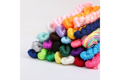 25 meters Chinese Knotting Nylon Cord, 1mm (804-850P)