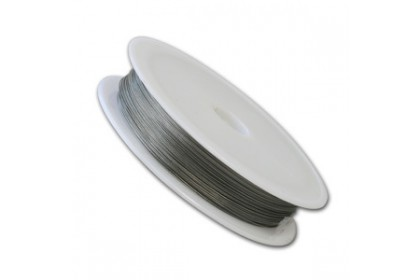 Beading Wire (Tiger Tail), 7 Strands Stainless Steel Core w/ Clear Nylon Coated