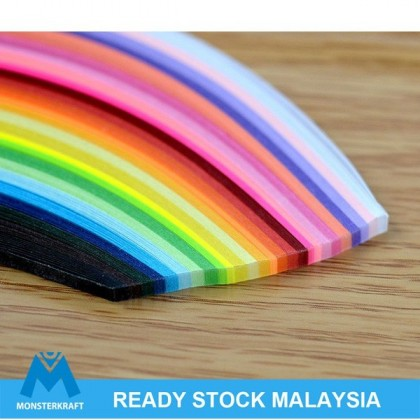 Quilling Paper Strips, Mixed Colors