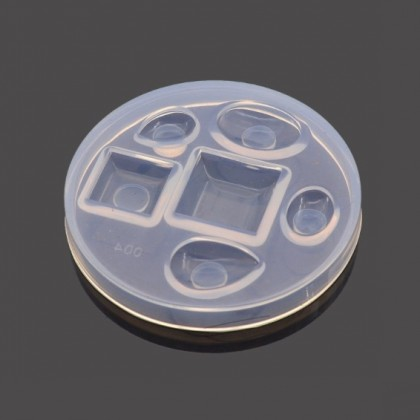 Cabochon Silicone Mold, Resin Mold for UV Resin/Epoxy Resin