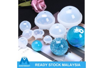 Orb Globe Ball Sphere Silicone Mold, 3D Resin Mold