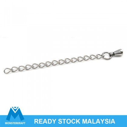 Extender Chain, Stainless Steel, with Tear Drop, 10 pcs/pack (520-700P)