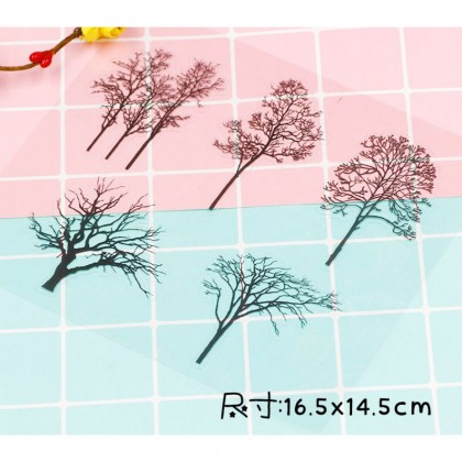 4 pcs Stickers for UV Resin and Phone Case, Resin Filler, Embellishments