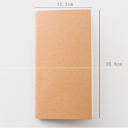 Traveller's Notebook Refill Inner Journal TN Notebook Diary Planner