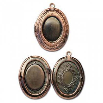 Locket Picture, Diy Photo Locket, 23.5x30mm, 2pcs/pack