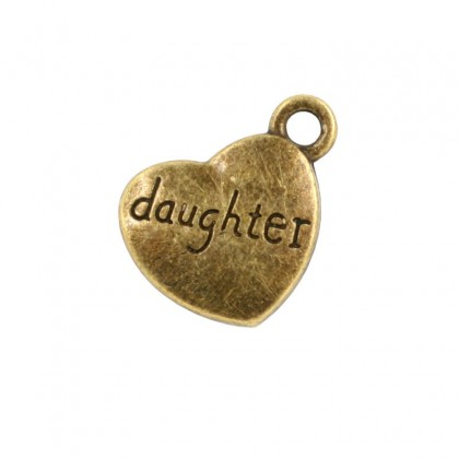 20 pcs Family Charms, 15x18mm, Antique Brass-Plated Pewter (605-624P)