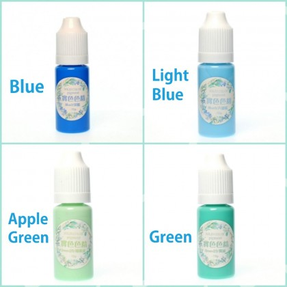 Colorant Pigment Liquid, Pastel Color, Pigment Colorant for Resin, Slime, Clay