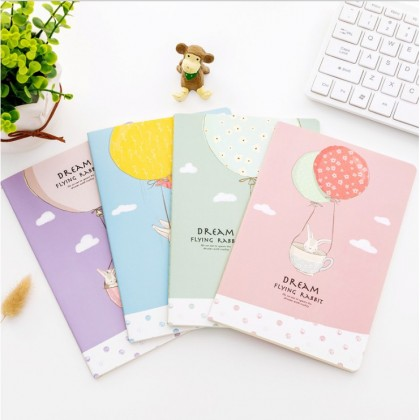 4pcs A5 Notebook, Diary Notebook, A5 Planner, Series 1 (set of 4)