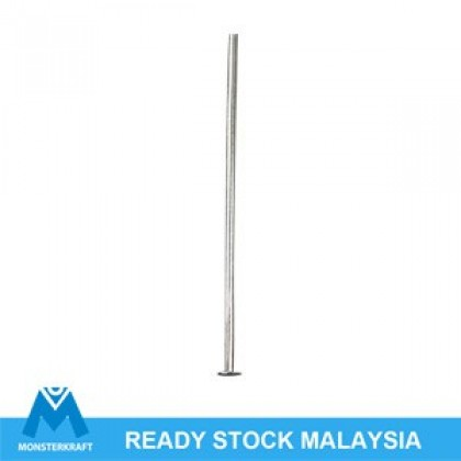 10 grams Headpin, Silver-Plated Brass