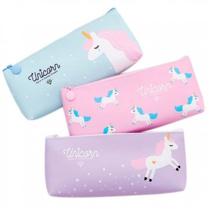 Unicorn Pencil Case PU Pouch
