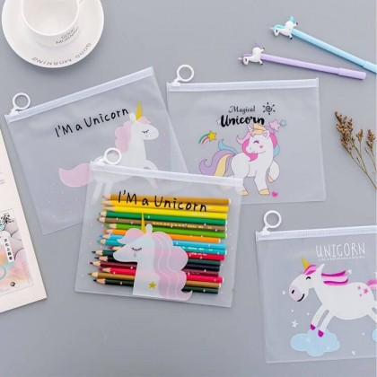 Unicorn Pencil Case Zipper