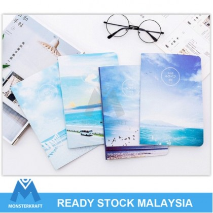 4 Books A5 Notebook, Diary Notebook, A5 Planner, Series 2 (4pcs/set)
