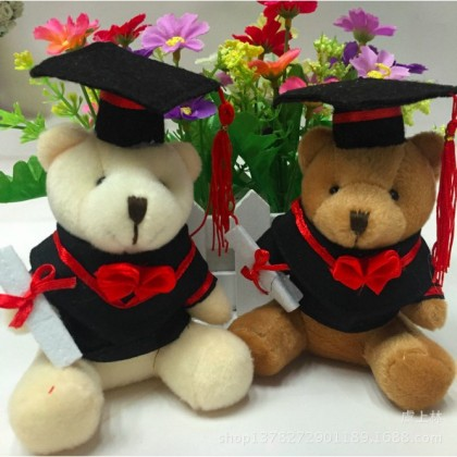 Graduation Bear Plush Doll Stuffed Cute Teddy Bear