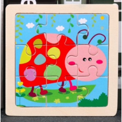 11cm Wooden Jigsaw Puzzles