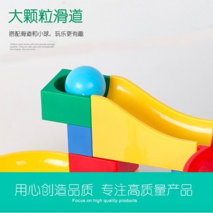 Marble Race Run Building Blocks Track Lego Duplo Compatible Building Blocks